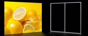 cadre alu textile