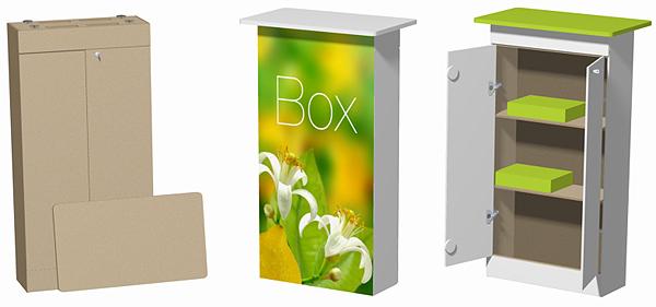 Box comptoir médio